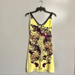 Ed Hardy Slip Dress